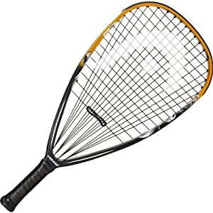 Buy Head TKO Racquetball Racquet - Black Gold White (3 5 8) by HEAD