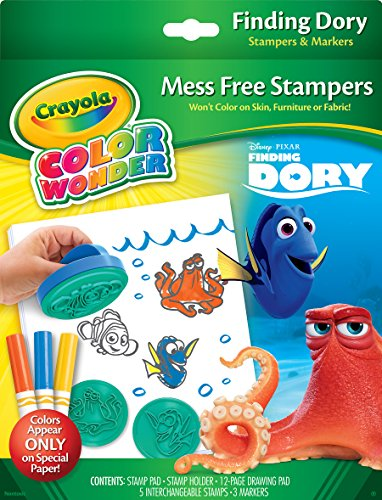 Crayola Finding Dory Color Wonder Stamper & Paper Set