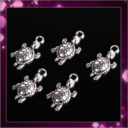Concise Elegant Lady White Black Flower Shape Metal Earrings 1 pair P1103