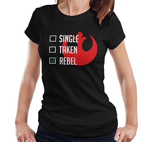 Single Taken Rebel Alliance Women's T-Shirt