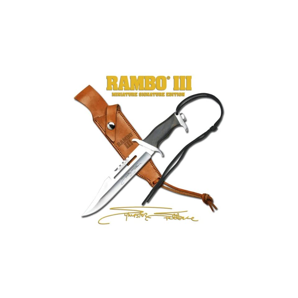 Officially Licensed RAMBO III MC RBM3SS Officially Licensed
