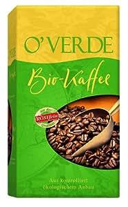 Röstfein O'Verde Bio-Kaffee, gemahlen, 2er Pack (2 x 500 g Packung) - Bio