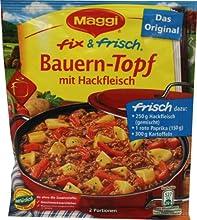 Maggi fix und frisch Bauern-Topf mit Hackfleisch
