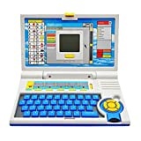 #7: Gooyo English Learner Educational Laptop for Kids, Multi Color