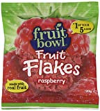Fruit Bowl Fruit Flakes Raspberry 20 g (Pack of 24)