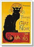 スタンラン Tournee du Chat Noir 【ポスター+フレーム】約71x51cm ホワイト