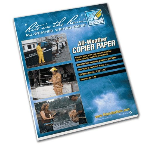 Rite in the Rain All Weather Copier Paper 25-Pack