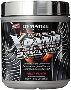 Dymatize Nutrition Xpand 2x Supplements, Fruit Punch, 36 Count