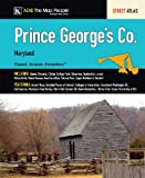 Prince George's County MD Atlas (0841671907) by ADC The Map People