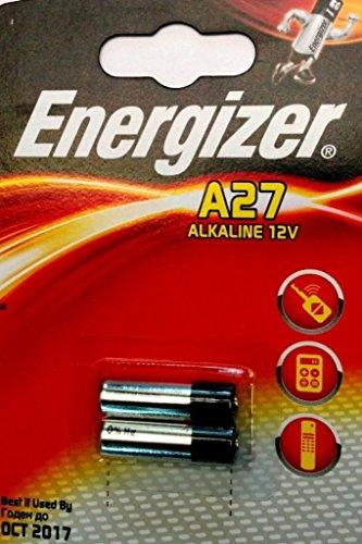 ENERGIZER Lot de 3 Blisters de 2 Pile Alcaline A27/E27A 12V