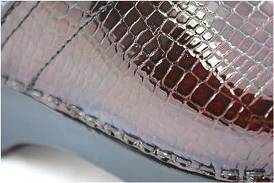Sanita Professional Croco in Bordeaux Leather