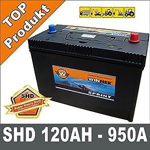 Auto LKW Batterie 120Ah Starterbatterie Schlepper, Traktor Trecker Unimog DAF  BaumarktÜberprüfung und weitere Informationen