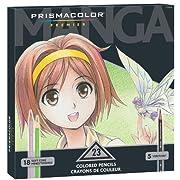 Prismacolor Premier Manga Colored Pencil Set, 23 Colored Manga Pencils (1774800): Amazon.ca: Office Products