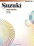 Suzuki Bass School: Bass Part Vol.4(Suzuki Method Core Materials) (0739048783) by Suzuki