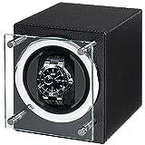 [ユーロパッション]EURO PASSION ワインディングマシーン ウォッチワインダー 1本 マブチモーター FWC-1119LBK [正規輸入品]