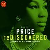 echange, troc Leontyne Price - Leontyne Price re-discovered (Débuts à carnegie Hall, 1965)