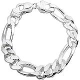 Woman Men Jewelry 925 Sterling Silver Strand Twine Bracelet xams