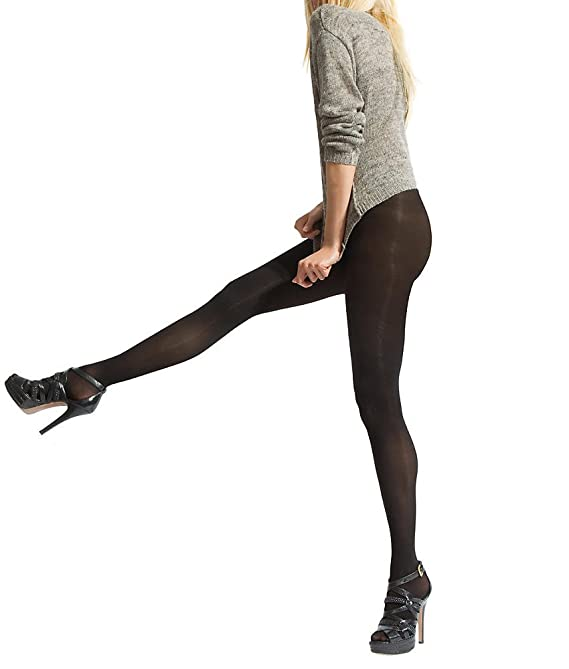 Essential Solutions Opaque Control Top Tights