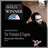 ショスタコーヴィチ:24の前奏曲とフーガ Op.87(全曲) (Shostakovich : The Preludes & Fugues / Alexander Melnikov) (2CD+1DVD) [Import from France]