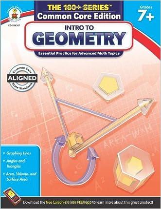 Intro to Geometry, Grades 7 - 8 (The 100+ Series(TM))