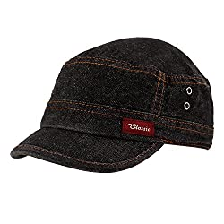 Copperzeit Trendy Black Denim cap for Men / Women