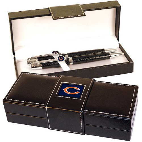 Chicago Bears Full Leather Executive Pen Set