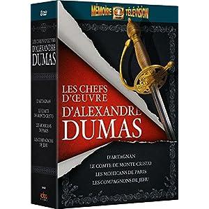 Coffret Les chefs d'oeuvre d'Alexandre Dumas (Le Comte de Monte-Cristo + +