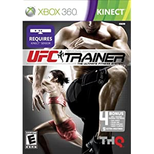 UFC Personal Trainer Video Game for Xbox 360