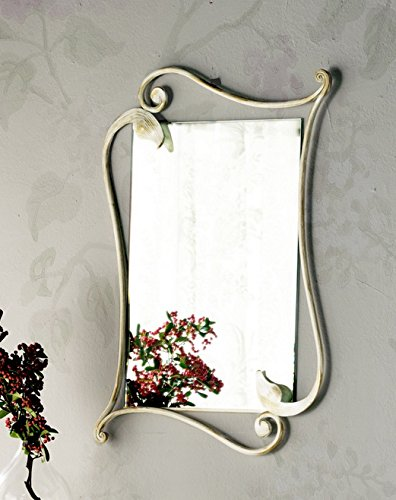 Eleonora – Mirror in Antique Iron (as in photo) brown