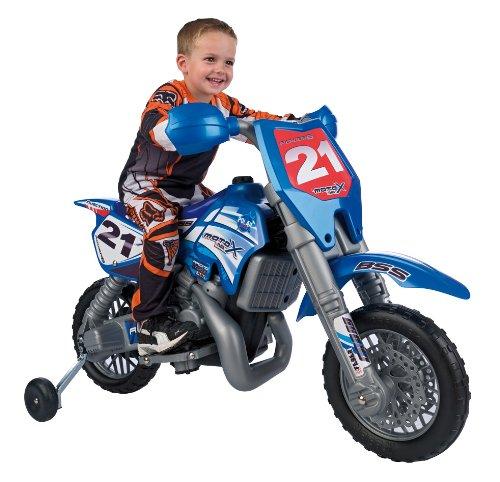 Imagen principal de Feber team Cross Moto X 6V - Moto con motor y batería de 6v y casco (5,3 km/h, 119 x 57 x 82 cm) (Famosa)