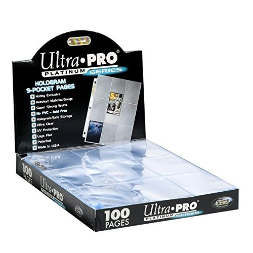 Ultra Pro Platinum Series Hologram 9-Pocket Pages (50) (Platinum Card compare prices)