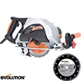Evolution Rage1 185mm TCT Multipurpose Circular Saw 110v