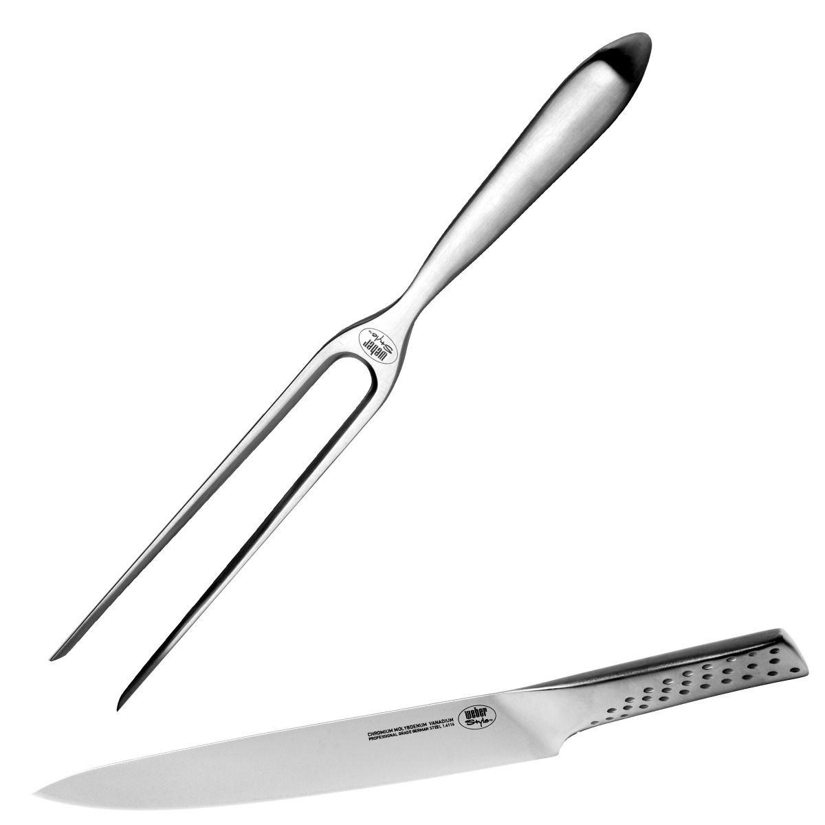 Weber 17074 Tranchierbesteck, Messer und Gabel jetzt kaufen
