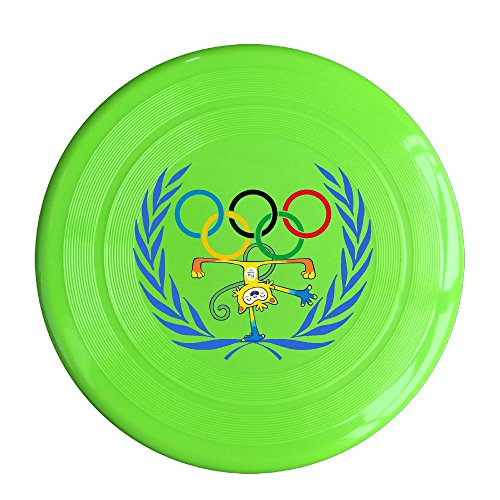 XJBD Unisex Love 2016 Game Outdoor Game, Sport, Flying Discs,Game Room, Light Up Flying, Sport Disc ,Flyer Frisbee,Ultra Star KellyGreen One Size