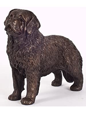 Saint Bernard: Cold-cast Bronze Figurine