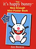 It's Happy Bunny Mini Poster Book (0439900999) by Benton, Jim