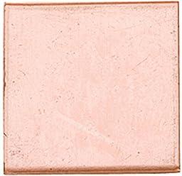 Copper Shape, Square, 1-1/2 Inch, 6 Pieces