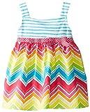 Youngland Baby Girls' Chevron Rainbow Sundress