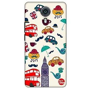 Designer Micromax Canvas Xpress 2 Case Cover Nutcase -Simply London !
