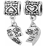 Com i love my daughter in law family charm fits pandora bracelets