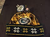 New Green Bay Packers BIG Logo LED Light up Hat Winter Stocking Knit Cap