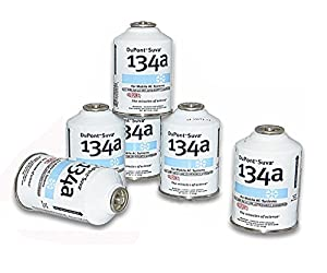 Six (6) 12oz Cans of DuPont Suva R134a Automobile Refrigerant/Freon (6 Cans) from DU PONT