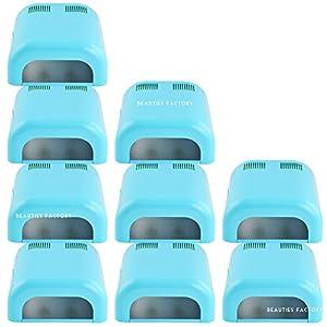 Beauties Factory Wholesale Lot : 10 x UV Gel Nail Art Curing Dryer Lamp