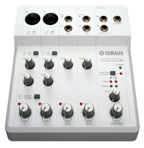 Yamaha Audiogram 6 audio interface