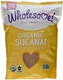 Wholesome Sweeteners Fair Trade Organic Sucanat Brown Sugar -- 2 lbs