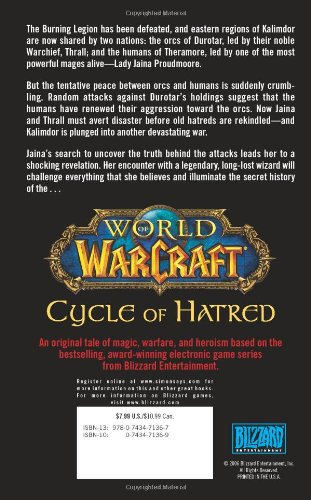 Warcraft: War of the Ancients: Cycle of Hatred Bk. 4