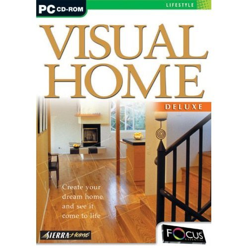 Home Design Software: Visual Home Deluxe (PC-CD) By Sierra Home