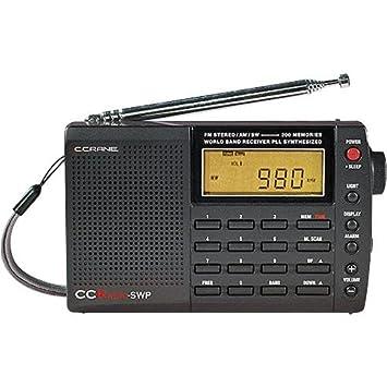 C Crane CC SW Pocket AM FM Shortwave Pocket