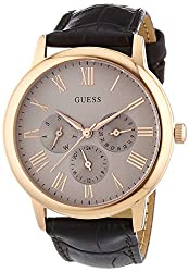 Guess Analog Beige Dial Mens Watch - W0496G1