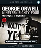 George Orwell Nineteen Eighty-four: (1984) (Csa Word Recording)